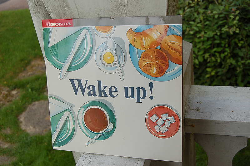 "Honda "" Wake up! "" Picture Disc LP"