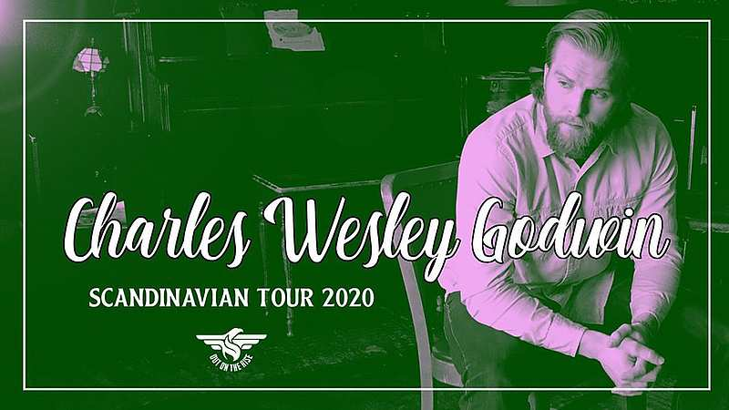 "Charles Wesley Goodwin "" Scandinavian Tour 2020 "" 29. Februar Live in Älghult at Phonobar"