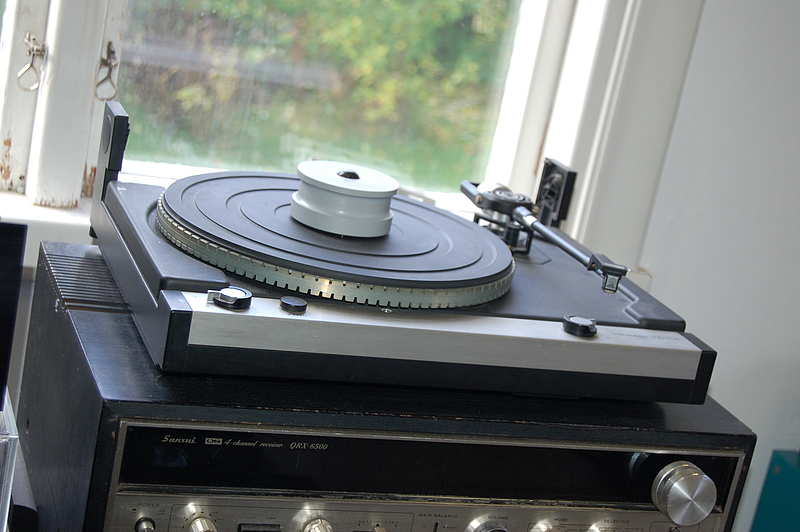 Thorens TD 110 Audio Technica AT