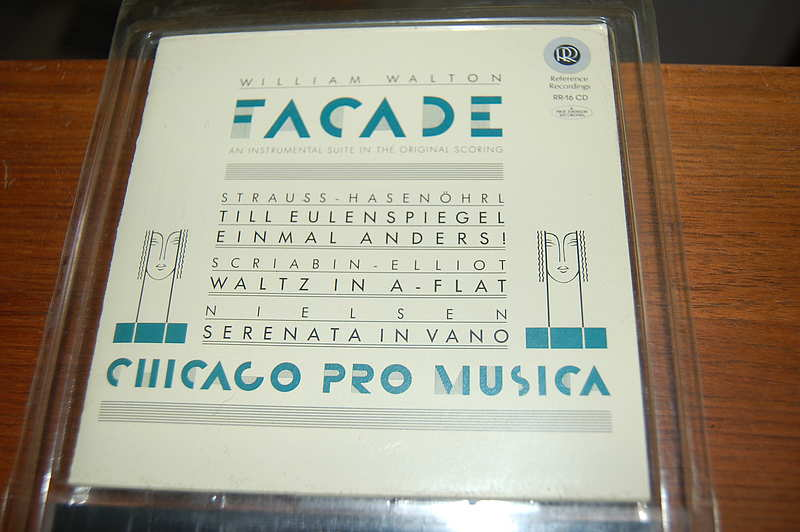 Reference Recordings RR-16 Facade / Walton Strauss Elliot Nielsen