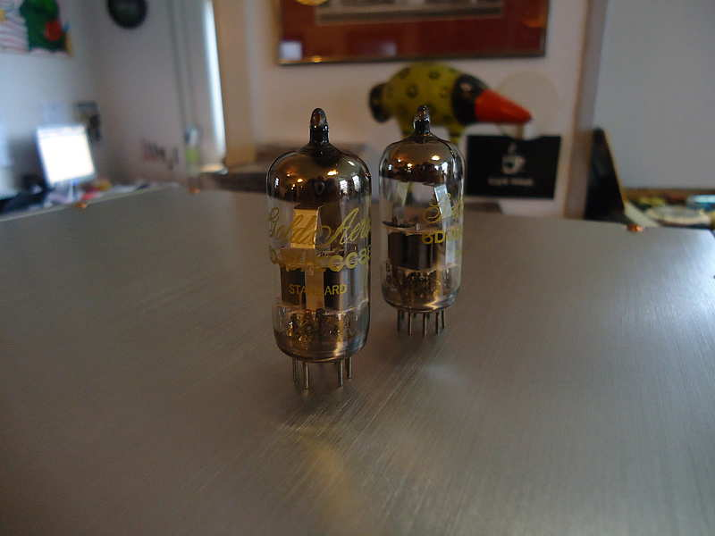 Gold Aero E88CC / 1 pair / 1 Paar / matched