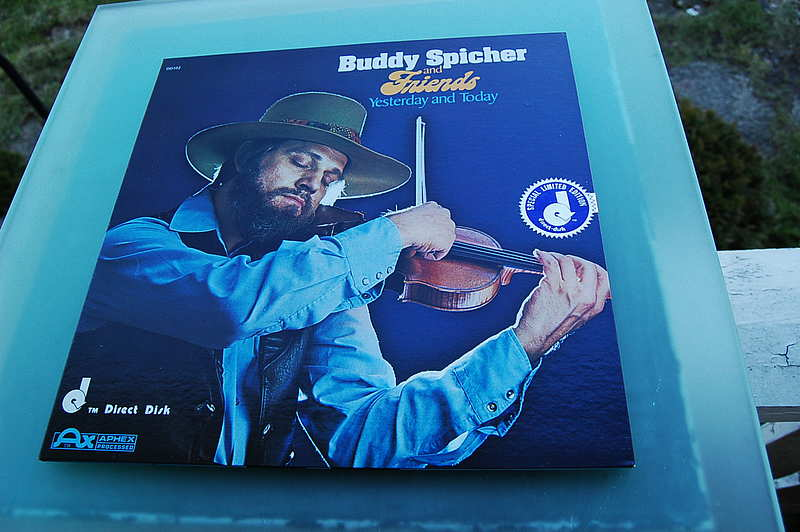 "Buddy Spicher & Friends "" Yesterday and Today "" / limited / Nashville / Direct to Disc"