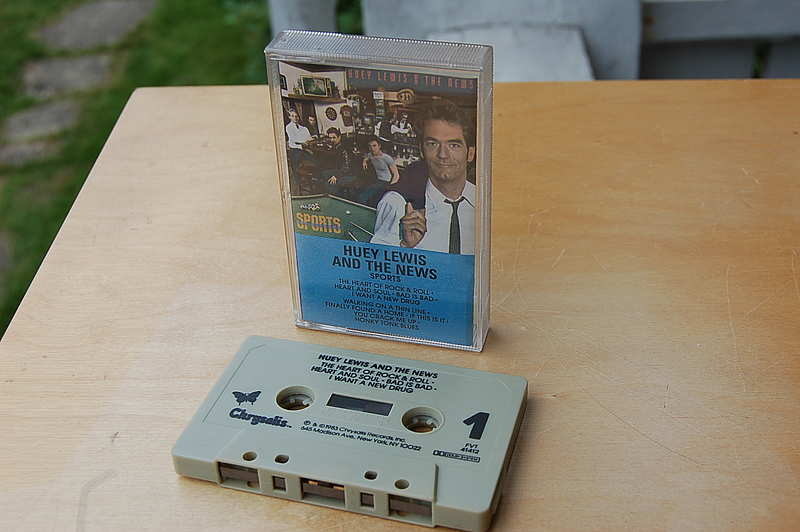 "Huey Lewis and the News "" Sports "" original US Cassette mit Dolby"