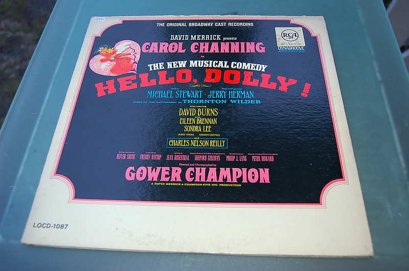 "RCA LOCD1087 "" Hello, Dolly! "" Carol Channing mono"