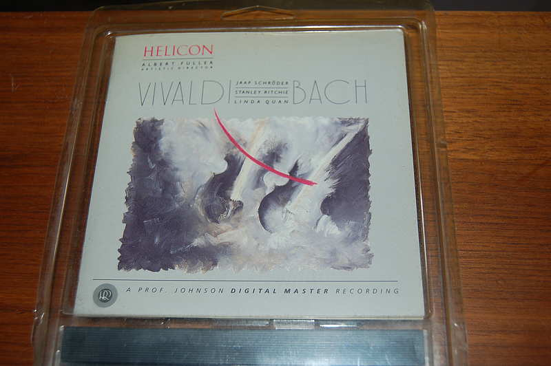 Reference Recordings RR-23 Vivaldi / Bach