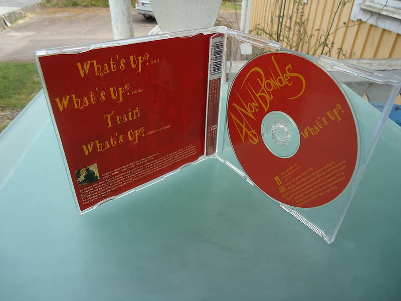 "4 Non Blondes "" What's up? "" / Single CD"