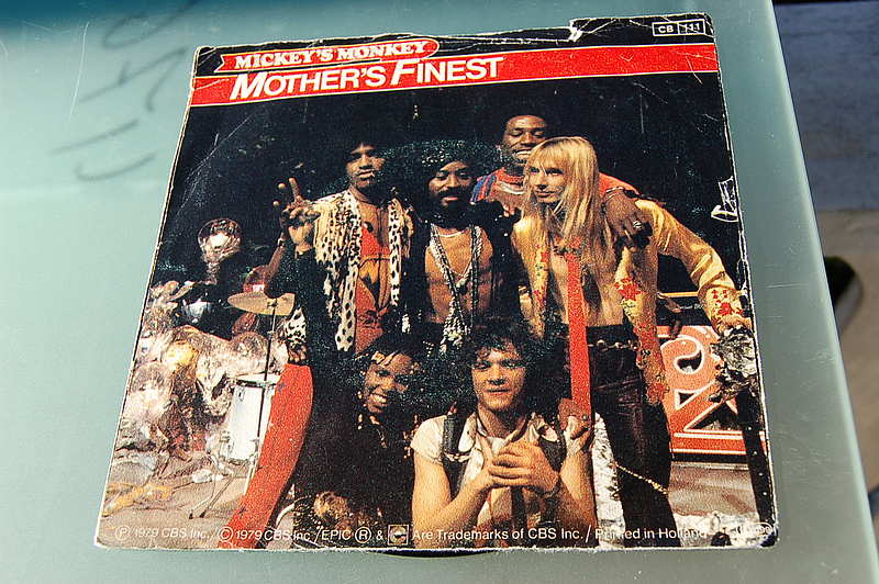 "Mother's Finest "" Mickeys Monkey & Dis go dis way... "" Single"