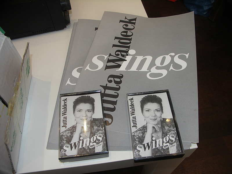 "Jutta Waldeck "" Swings "" MC Cassette"
