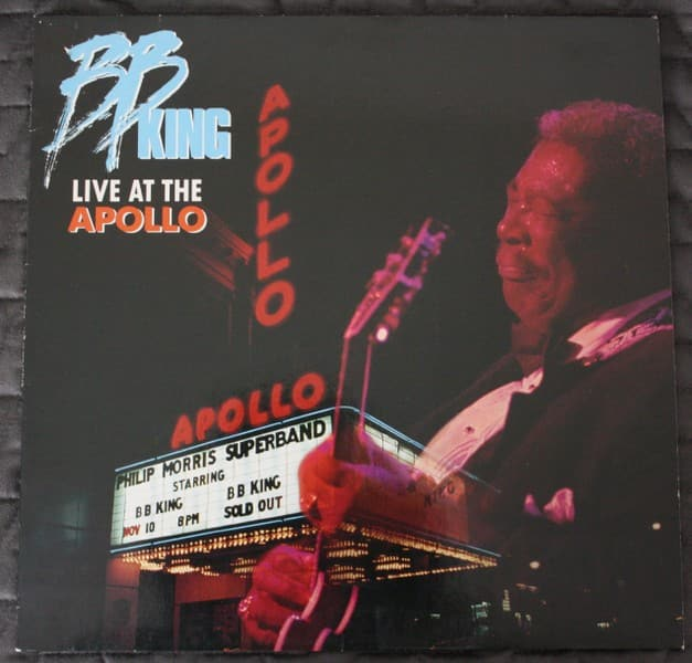 "B.B. King "" Live at the Apollo "" LP"
