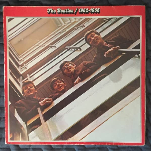 "Beatles "" 1962-1966 "" Rotes Album 2x LP"