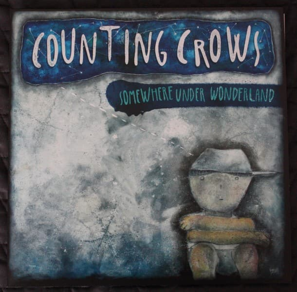 "Counting Crows "" Somewhere under Wonderland "" LP"