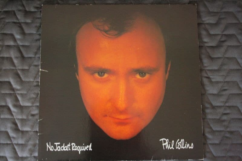 "Phil Collins "" no jacket required "" LP"